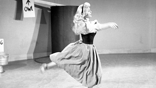 Disney Legend Alice Davis Dancing