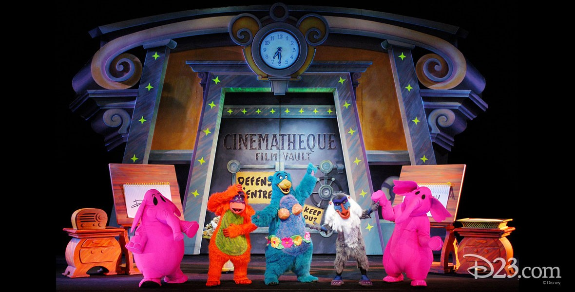 Animagique Black light show based on the greatest moments from Disney classics at Walt Disney Studios Paris