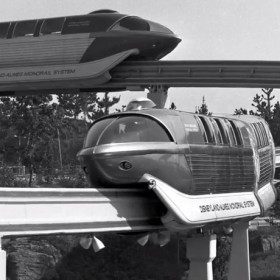 Archive photo of Disney Monorail