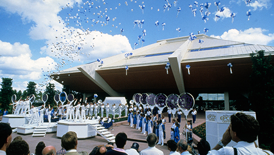 Horizons celebrated its opening in grand style on October 1, 1983.
