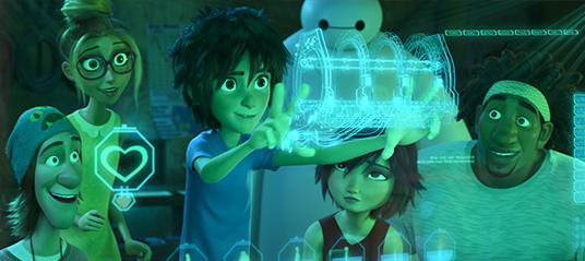 Characters from Big Hero 6