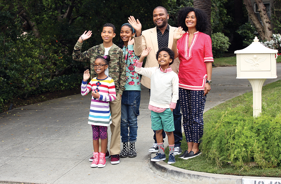 photo of the cast of black-ish