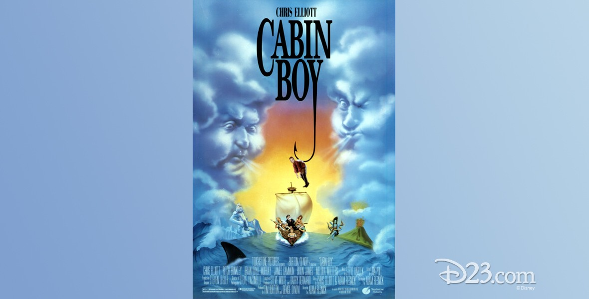 one-sheet movie poster for Cabin Boy