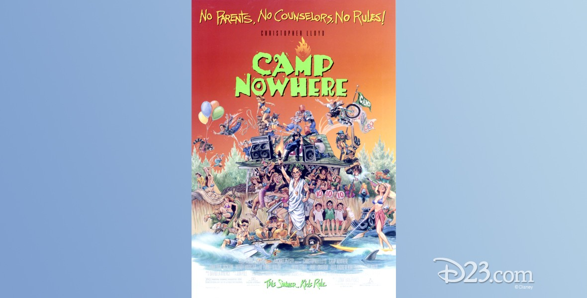 movie one-sheet poster for Camp Nowhere
