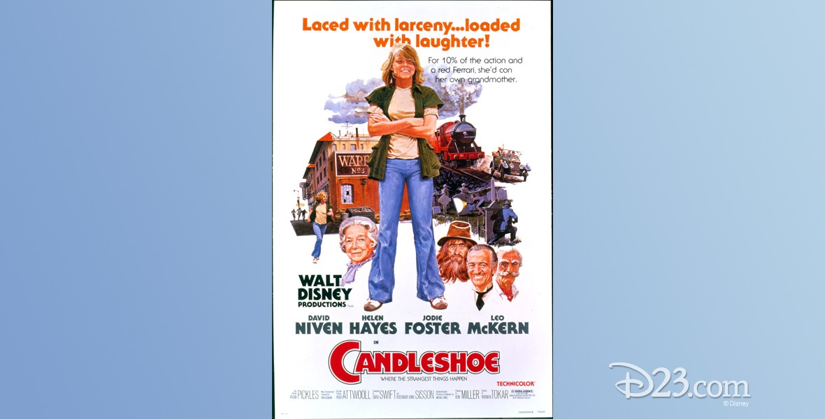 one-sheet movie poster of Candleshoe