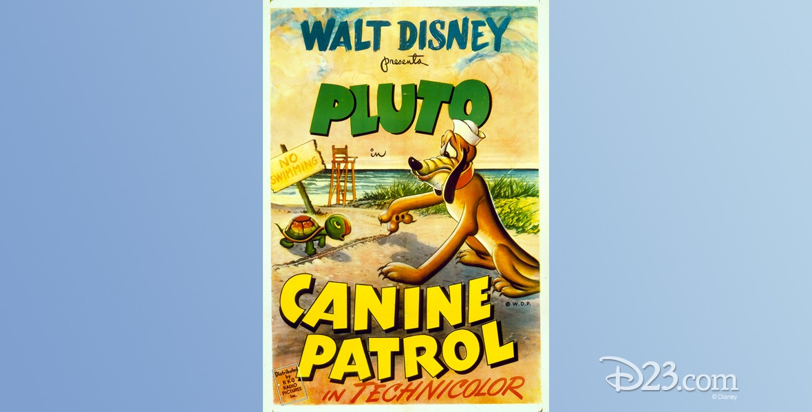 one-sheet movie poster for cartoon Canine Patrol