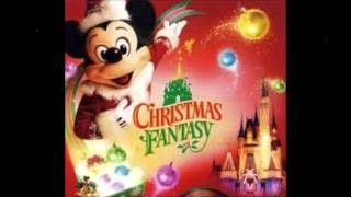 poster for A Christmas Fantasy featuring Mickey Mouse