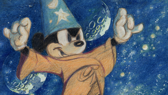 Sorcerer Mickey Desktop Wallpaper