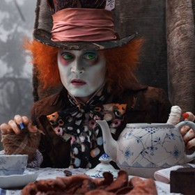 Johnny Depp Through the Looking Glass