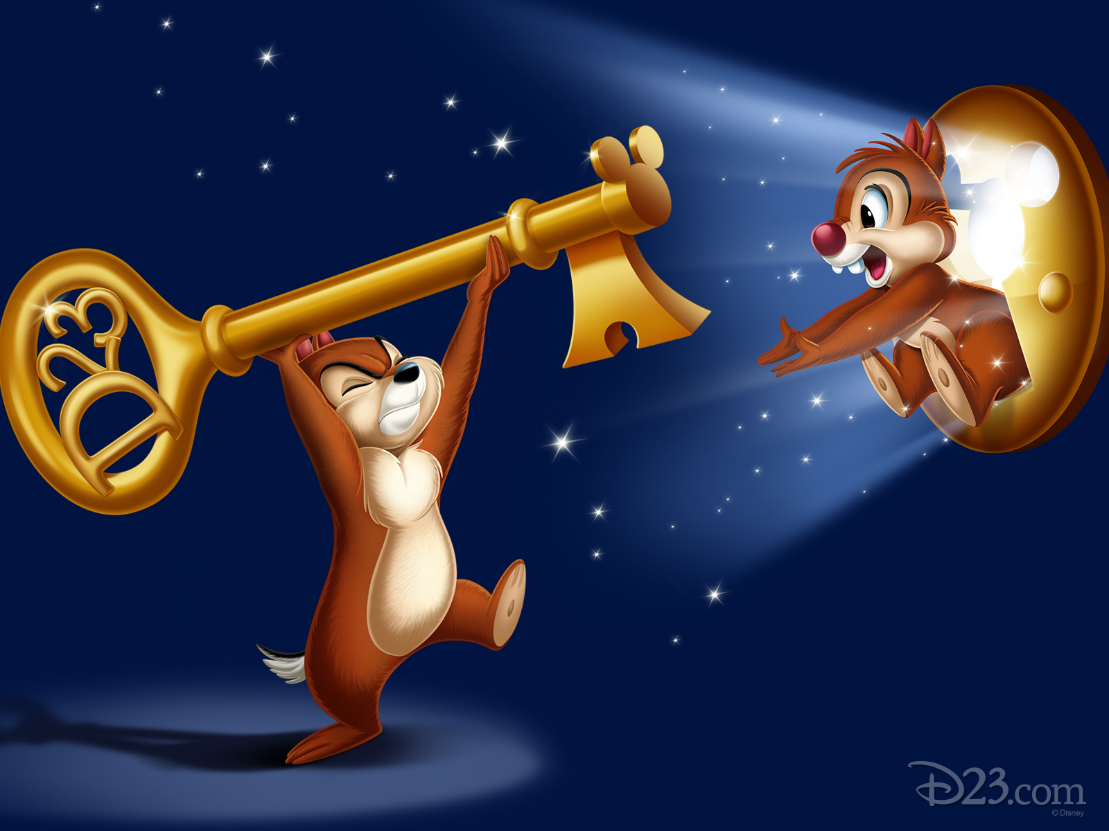 D23 39 s unlock the magic d23 - Chip n dale wallpapers free download ...