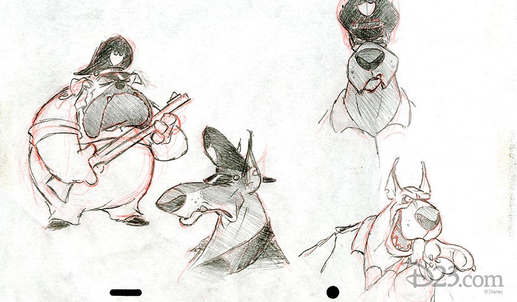 Darkwing Duck Concept Art