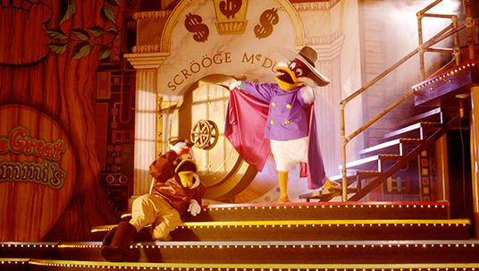 still of Darkwing Duck on Mickey's Magical TV World