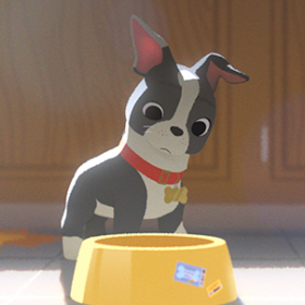 Winston in Disney Animated Film Feast