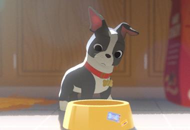 Winston in Disney Animated Film Feast