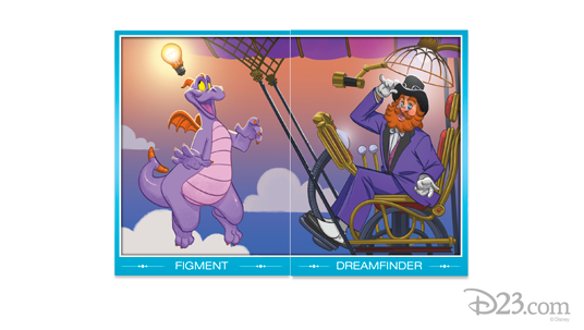 Figment and Dreamfinder pair