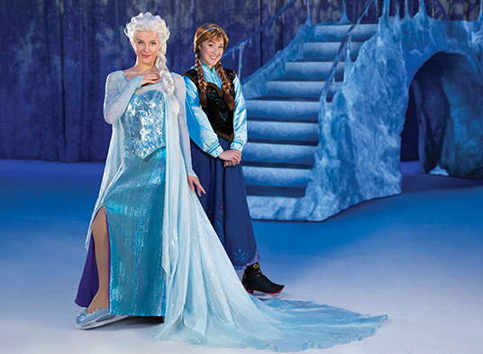 Get A Behind The Scenes Look At Disney On Ice Presents Frozen D23