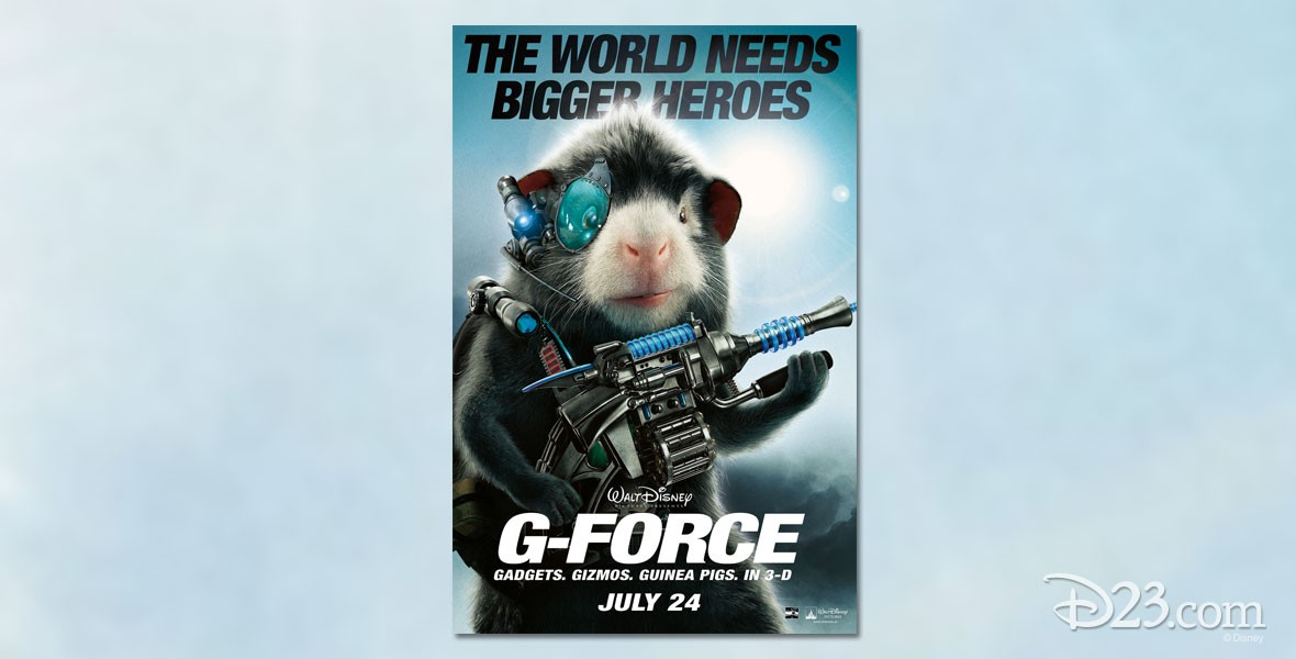 Photo of Guinea Pig from Disney Film G-Force