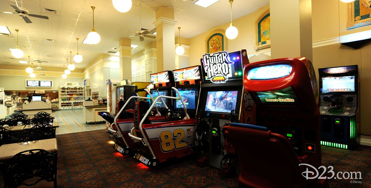 Gasparilla Grill & Games Fast-food and game arcade at the Grand Floridian Resort & Spa at Walt Disney World,