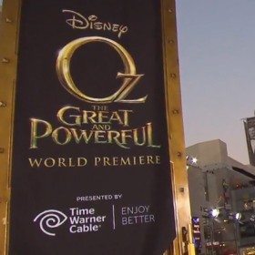 The premiere of Oz the Great and Powerful