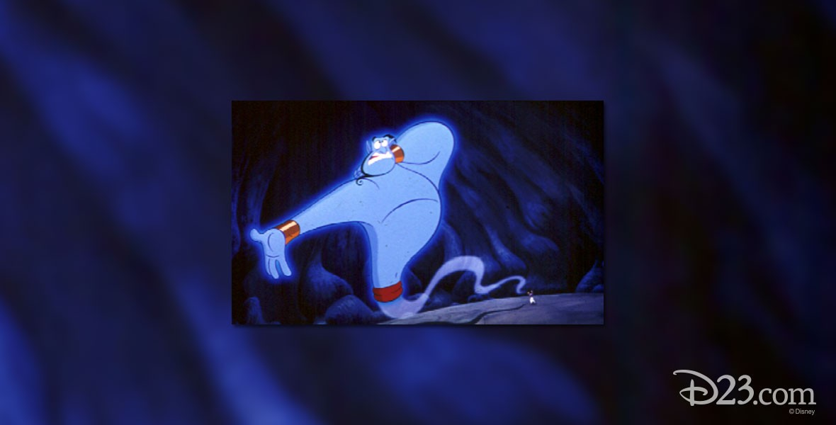 Genie from Disney Film Aladdin