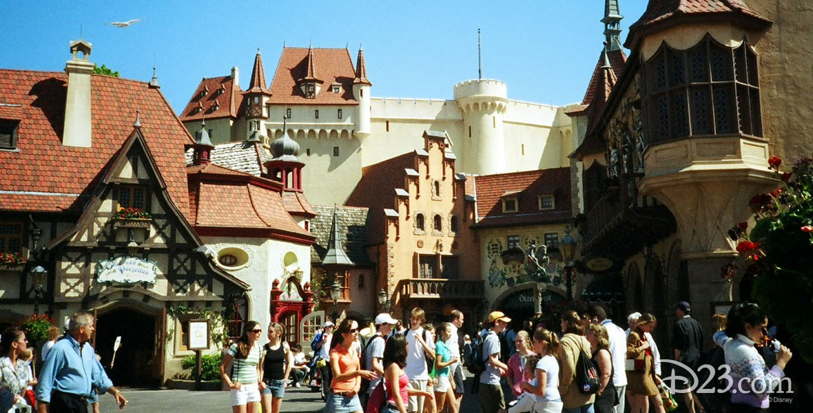 Germany Pavilion in World Showcase at Epcot