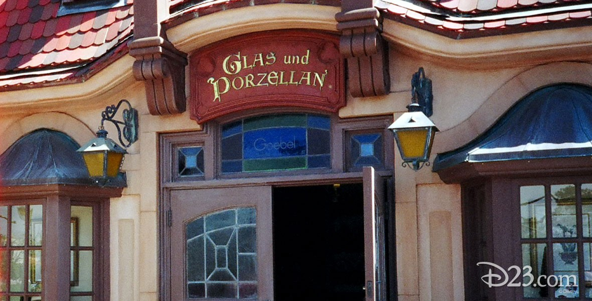 Glas und Porzellan Shop World Showcase at Epcot