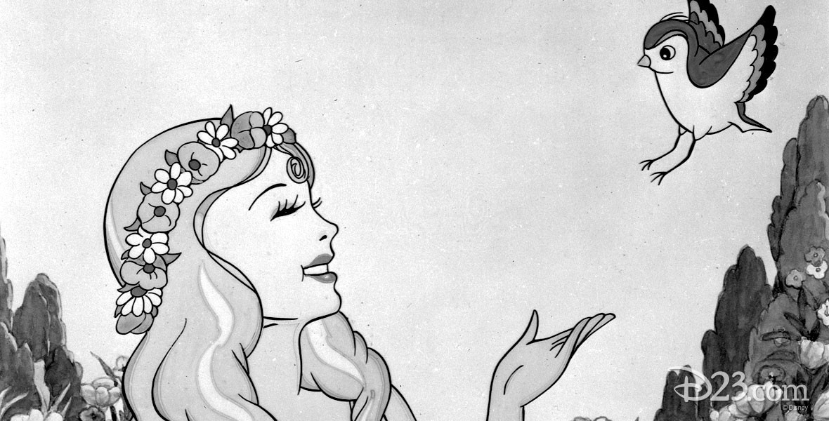 The Goddess of Spring Silly Symphony cartoon