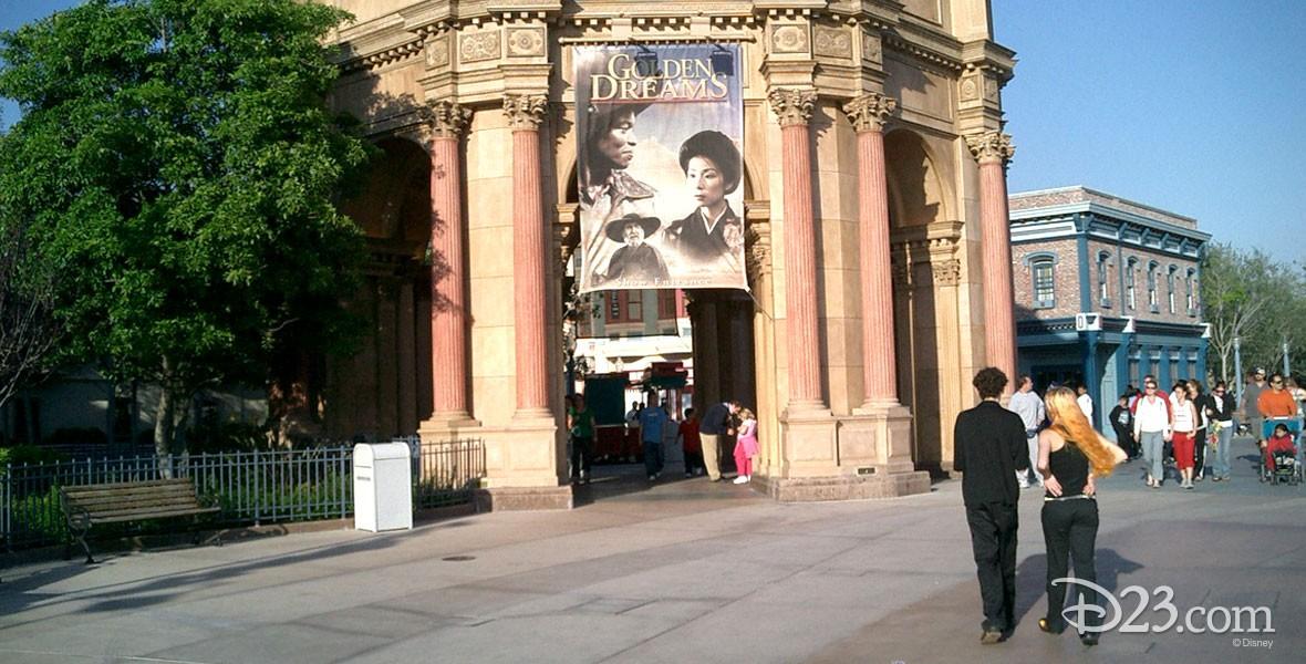 Golden Dreams Film attraction at Disney California Adventure