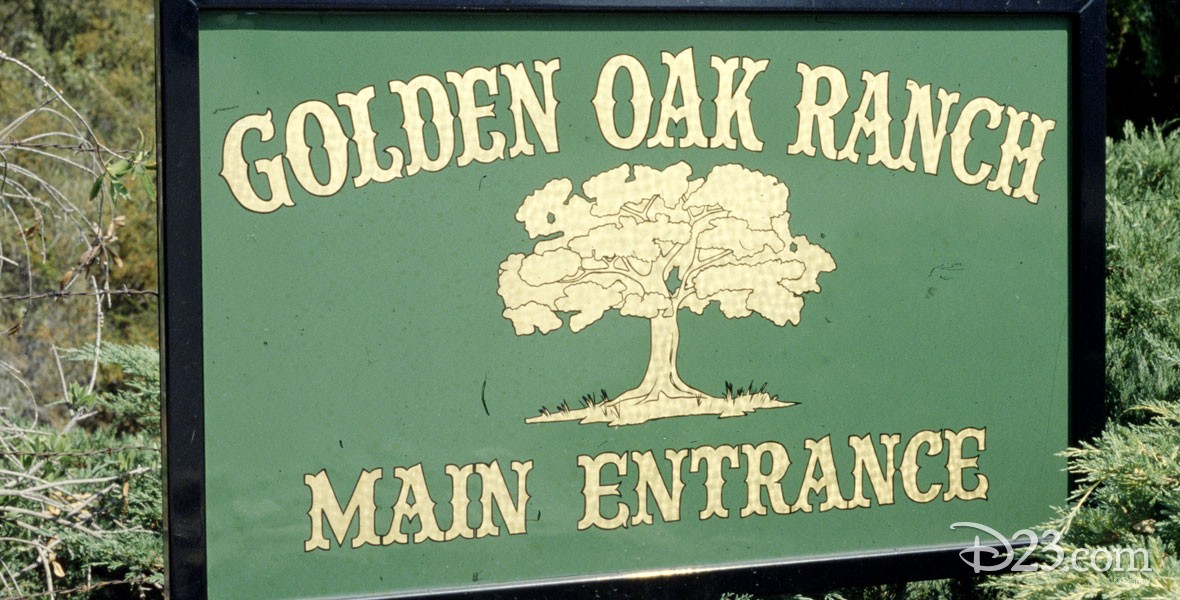 Golden Oak Ranch Located in Placerita Canyon, about 25 miles north of the Disney Studio in Burbank