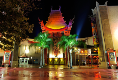 Walt Disney and Turner Movie Classic The Great Movie Ride