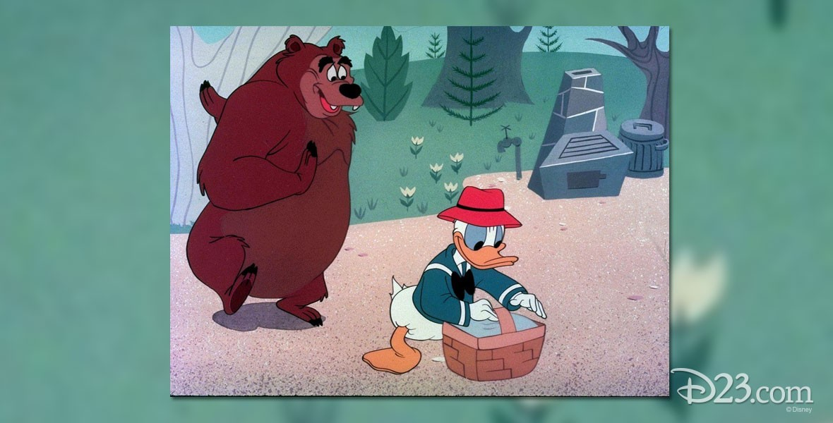 Grin and Bear It Donald Duck cartoon