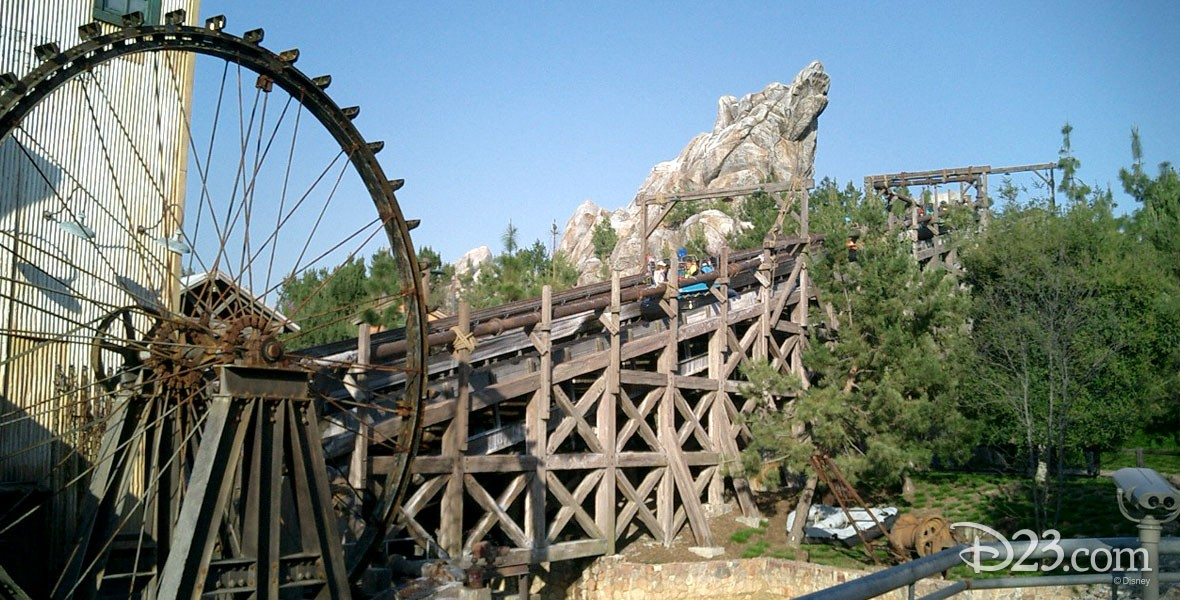 "Grizzly River Run Attraction, appropriately nicknamed ""Grr, "" at Disney California Adventure"