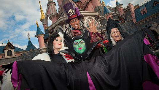 Maleficent's Court at Disneyland Paris