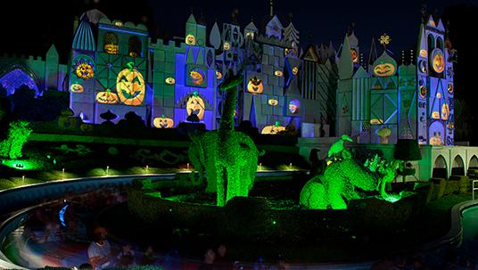 Halloween at the Disneyland Resort