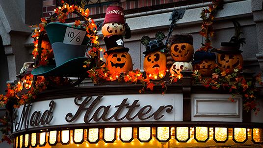 Disneyland transforms to become the Pumpkin Festival