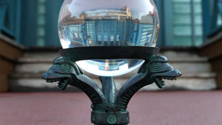 Disneyland Haunted Mansion Snow Globe