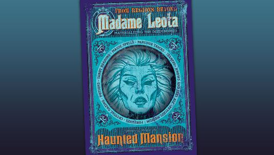 """Afterlife Advertisements"" poster of Madame Leota"