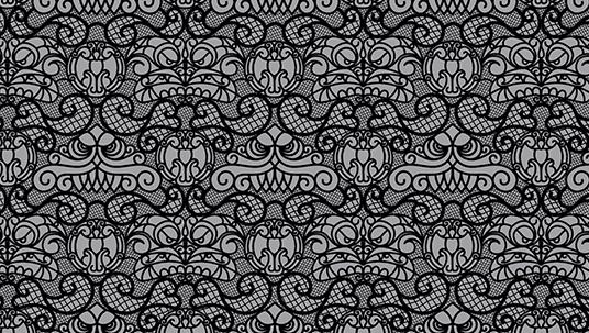 Disneyland Haunted Mansion Lace Pattern