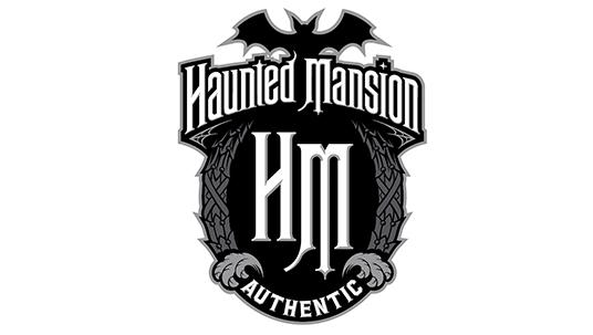 """""""Haunted Mansion Authentic"""" logo"""