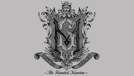 Haunted Mansion Master Gracey Seal of Arms