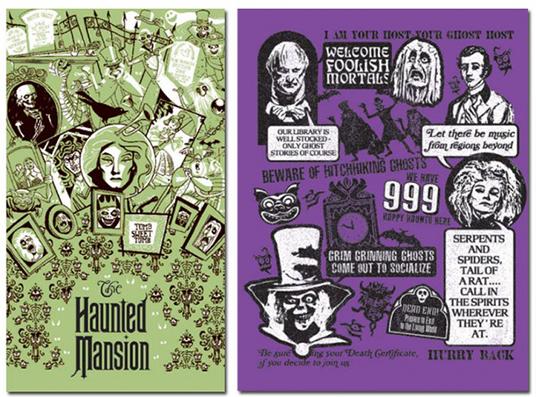 Haunted Mansion Illustrations