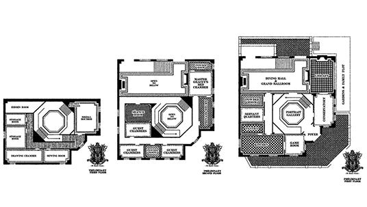 Disneyland Haunted Mansion Floorplans