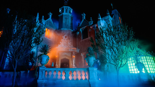 photo of Haunted Mansion as it appered in the film