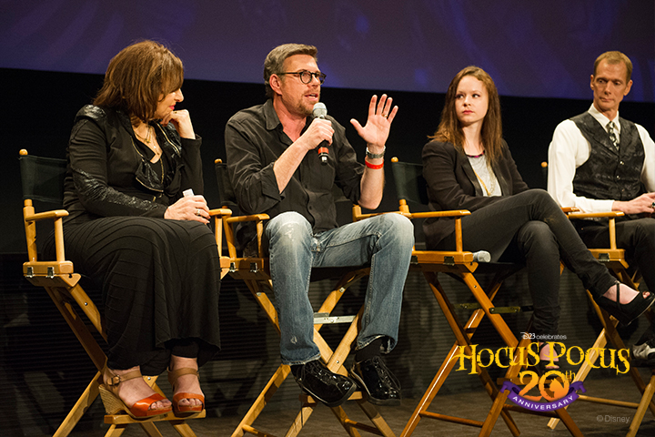 David Kirschner (<em>Hocus Pocus </em>producer and creator) shares with the cast, crew, and Disney fans how he originally came up the story as a tale he told to his daughter before she went to bed each night.