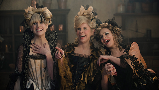 Cinderella's Stepmother and Stepsisters (Christine Baranski, Tammy Blanchard, Lucy Punch)