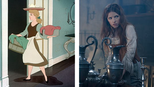 Anna Kendrick (Pitch Perfect, Up in the Air) fills the shoes of Cinderella, who finds herself on a journey of self-discovery.