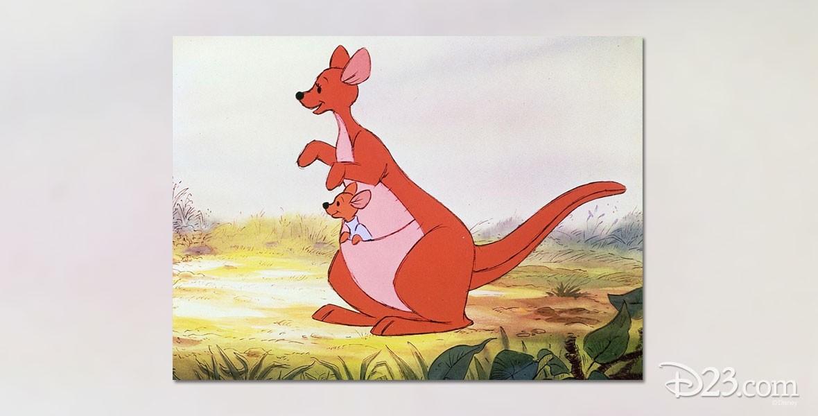 Photo of Kanga Kangaroo character in the Winnie the Pooh films