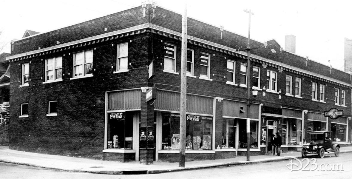 Elias Disney's newspaper distributorship in Kansas City, Missouri