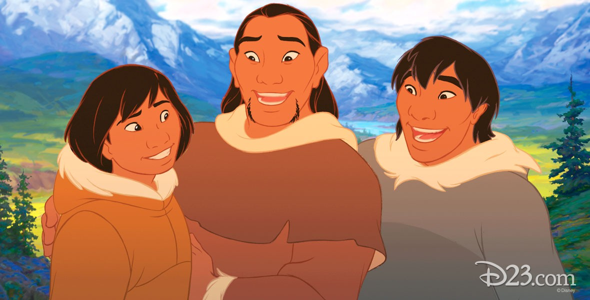 Kenai in Disney film Brother Bear