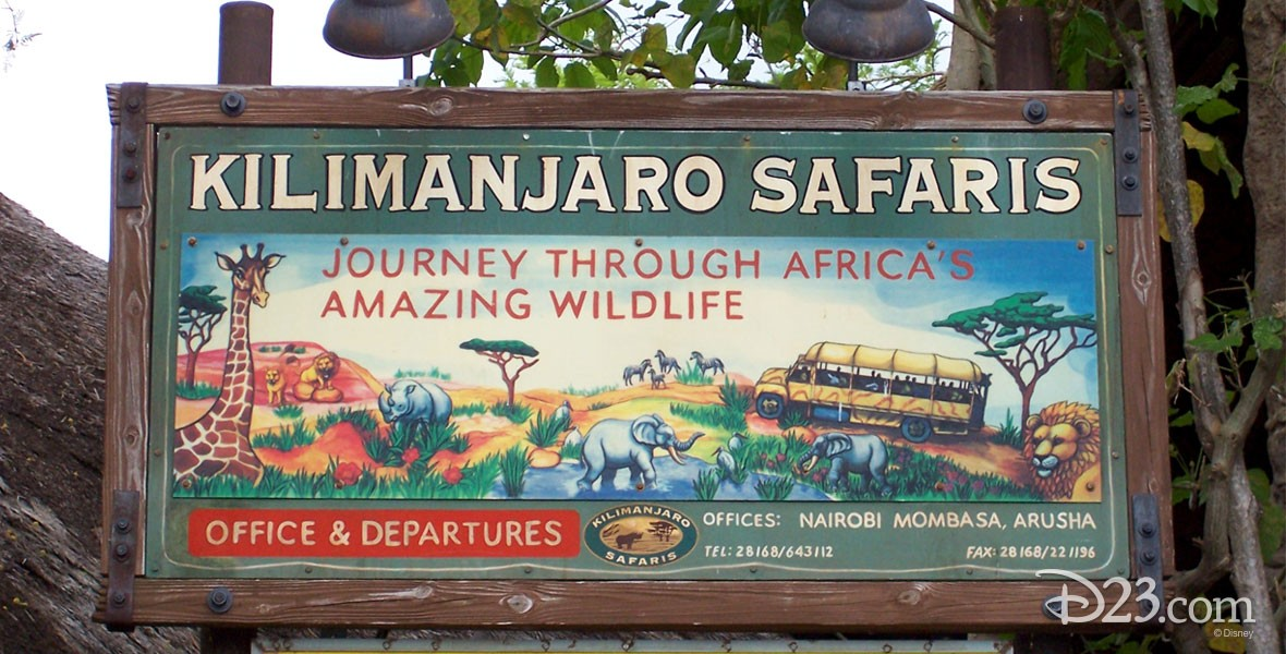 Kilimanjaro Safaris Attraction at Disney's Animal Kingdom at Walt Disney World